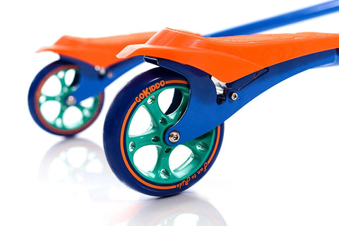 Go-Kiddo GK-T6-BU T6 Carving Scooter - Blue