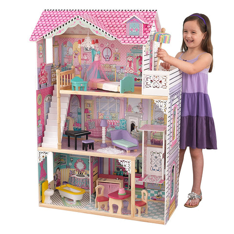 KidKraft 65079 - 47 in. Annabelle Dollhouse - Peazz.com