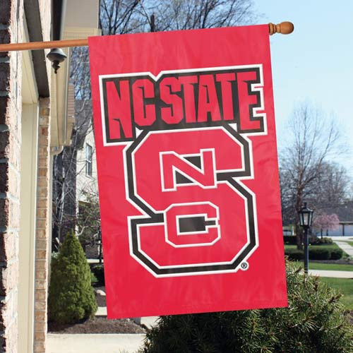 The Party Animal, Inc. AFNCS North Carolina State Wolfpack Appliqué Banner Flag