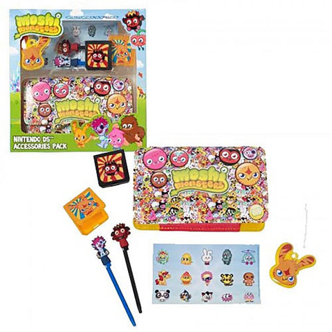 DS Moshi Monsters 7 in 1 Accessory Kit - Boy Pack (GAMO-1PA-BOY1-DS-DB)