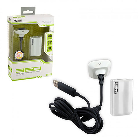 Xbox 360 Charge and Play Pack (KMD-360-0509)