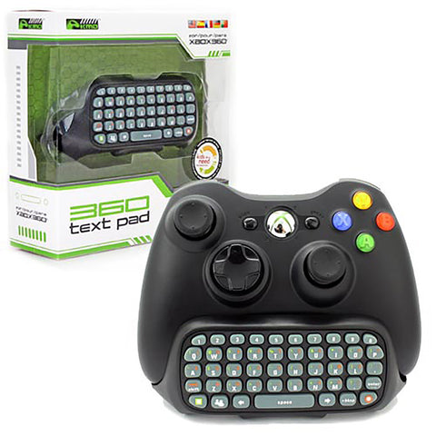 Xbox 360 Text Pad Black (KMD-360-3577)