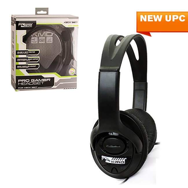 Xbox 360 Wired ProGamer Headset (KMD-360-3669)