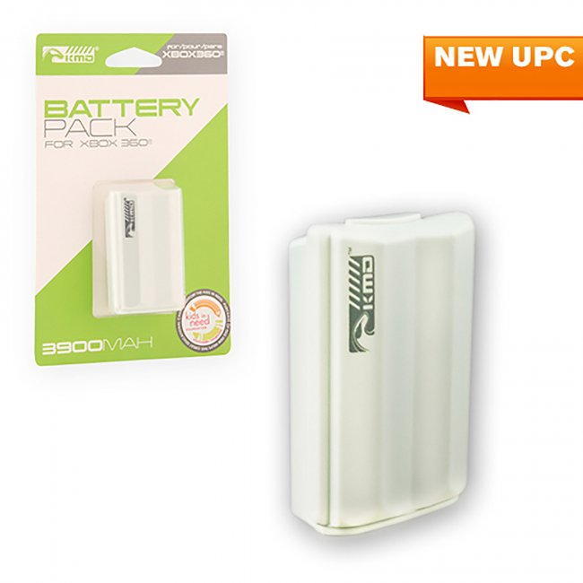 Xbox 360 Rechargeable Stylized Battery Pack (KMD-360-3989)