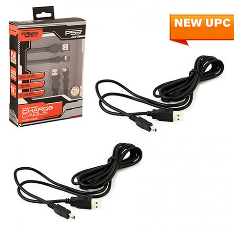 PS3 Twin Pack Charge Cable (KMD-P3-9180)