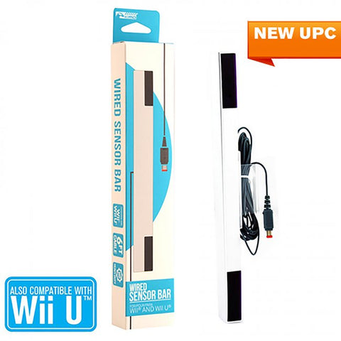 Wii U Wired Stylized Sensor Bar (KMD-W-6355)