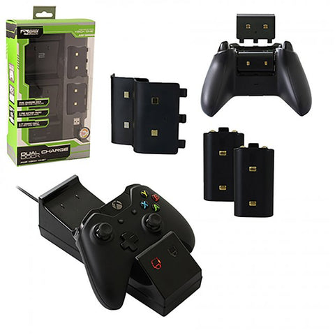 Xbox One Dual Charge Dock Bundle (KMD-XB1-3095)