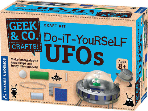 Thames & Kosmos 553004 Do-It-Yourself UFOs