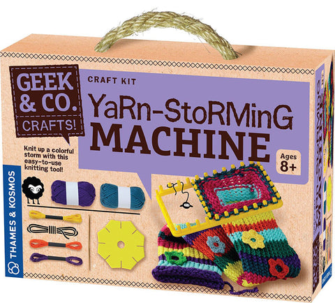 Thames & Kosmos 553006 Yarn-Storming Machine