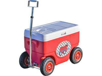 Cruzin Cooler CS-Coolagon-Red Coolagon Trailer Red