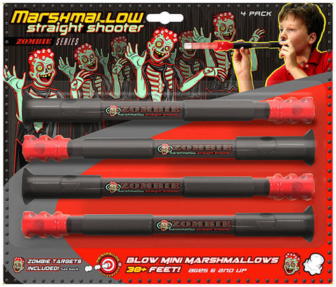 Marshmallow Fun Z Straight Shooter 4 Pack 9120 Shooter