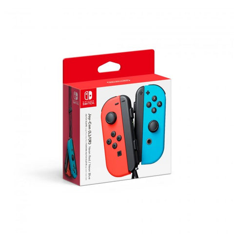 Nintendo Switch Joy-Con (L/R) Controller - Red/Blue (NXNS-008)