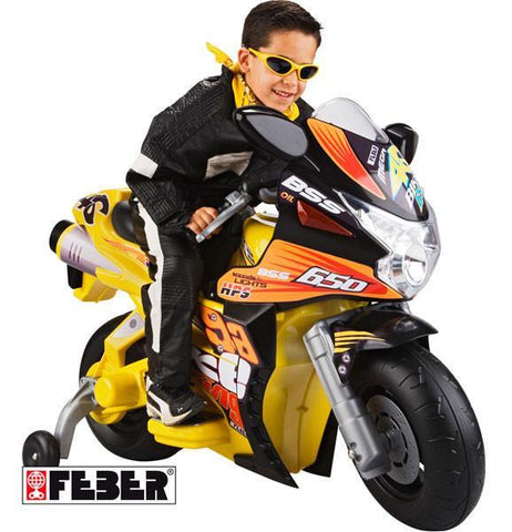 Feber Mega Racing Bike 6v Feb-800003833 - Peazz.com