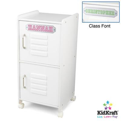 KidKraft Medium Locker - White 14321 - Peazz.com
