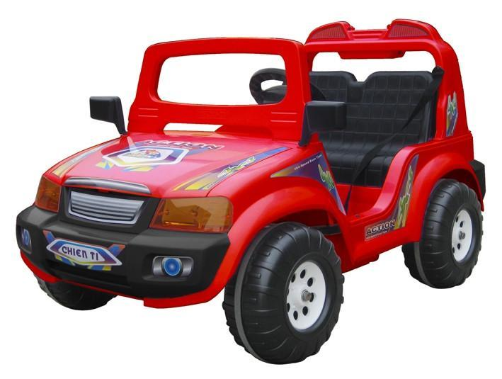 Ctm Kids Double Seater Electric Touring Car Red
