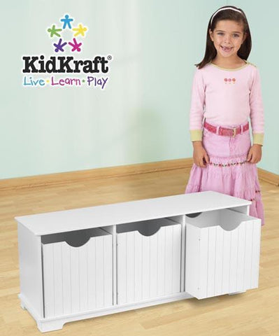 KidKraft Nantucket Storage Bench 14564 - Peazz.com