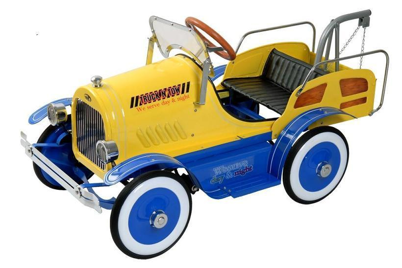 Dexton DX-20135 Deluxe Tow Truck Pedal Car