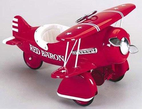 Airflow 6001rb Red Baron Pedal Plane