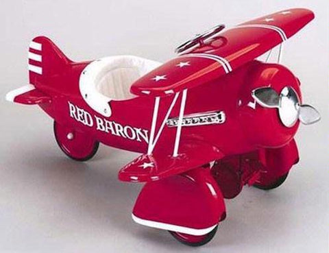 Airflow 6001RB Red Baron Pedal Plane - Peazz.com - 1