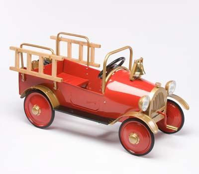 Airflow AF103 Fire Engine Pedal Car - Peazz.com - 2