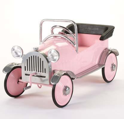 Airflow AF102 Pink Princess Pedal Car - Peazz.com - 2