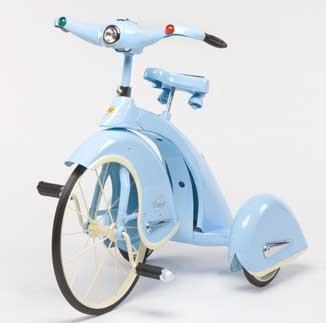 Airflow TSK004 Skyking Tricycle - Blue - Peazz.com