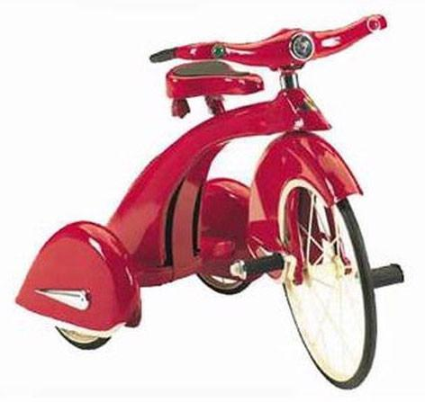 Airflow TSK001 Skyking Tricycle - Red - Peazz.com
