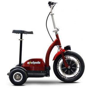 EWheels EW 18 R Stand/Ride - Red - Peazz.com
