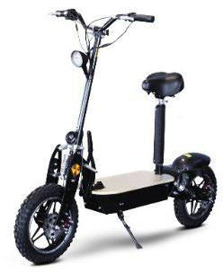 Go-Bowen Performance 1000W Electric Scooter - Black