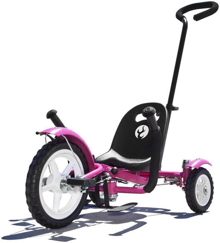 ASA Products Tri-702P Mobo Tot (Pink) With Pushbar - Peazz.com