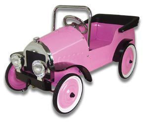 Jalopy Harriett Pedal Car - Pink J39HP - Peazz.com