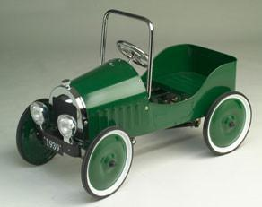 Jalopy Sedan Pedal Car - Green J39G - Peazz.com