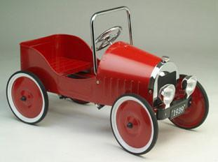 Jalopy Sedan Pedal Car - Red J39R - Peazz.com