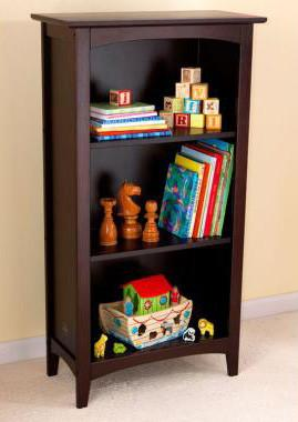KidKraft 14043 Avalon Tall Bookshelf- Espresso - Peazz.com