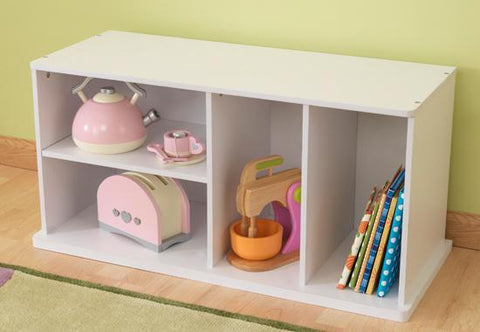 KidKraft 14179 White Add on Storage Unit - Peazz.com