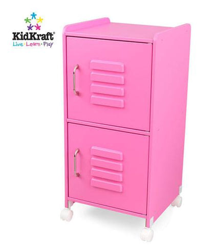 KidKraft Bubblegum Medium Locker 14326 - Peazz.com
