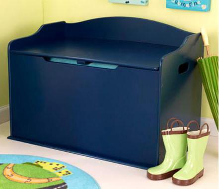 KidKraft 14959 Austin Toy Box-Blueberry - Peazz.com