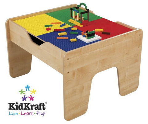 KidKraft 2 in 1 Activity Table with Board 17576 - Peazz.com