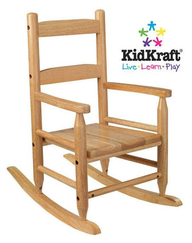 KidKraft 2-Slat Rocker - Natural 18121 - Peazz.com