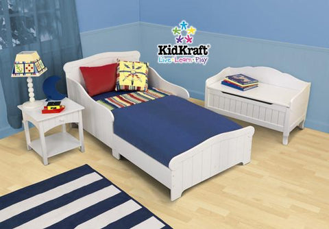 KidKraft Nantucket Toddler Cot 86621 - Peazz.com