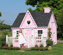 8 x 8 Victorian Playhouse - Panelized KIT - Peazz.com