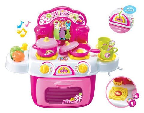 Berry Toys BR008-87 My First Portable Kitchen Play Set - Peazz.com