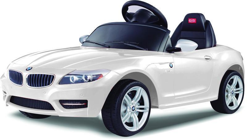 Vroom Rider VR81800-WH BMW Z4 Rastar 6V - Battery Operated/Remote Controlled (White) - Default