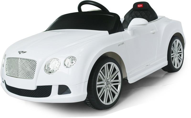 Vroom Rider VR82100-WH Bentley GTC Rastar 6V - Battery Operated/Remote Controlled (White) - Default