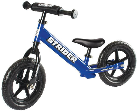 Strider ST-S4BL 12 Sport - BLUE w/XL Seat Post and Saddle - Peazz.com