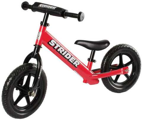 Strider ST-S4RD 12 Sport - RED w/XL Seat Post and Saddle - Peazz.com