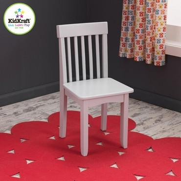 KidKraft 16659 Avalon Chair- Gray Fog