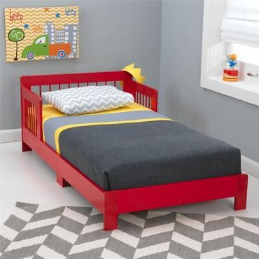 KidKraft 76243 Houston Toddler Bed - Red