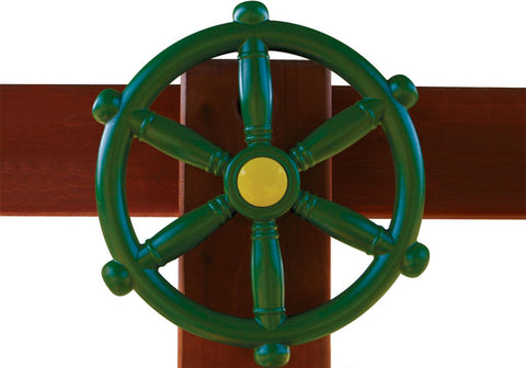 "Gorilla Playsets 07-0006 Ships Wheel - 12"" Diameter - Peazz Toys"