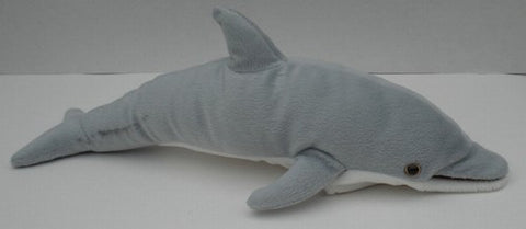 "12"" Dolphin Finger Puppet - Peazz Toys"